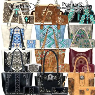 Pre-Pack Purses & Wallets - ABS-052W