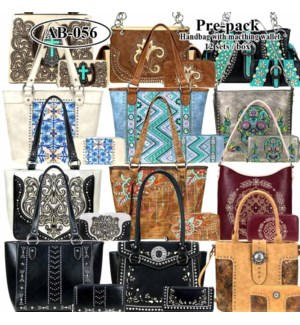 Pre-Pack Purses & Wallets - AB-057W