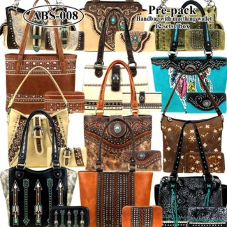 Pre-Pack Purses & Wallets - AB-046