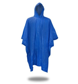 .10 mm Poncho - Blue
