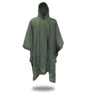 .10 mm Poncho - Green