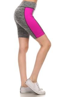 Active Wear Shorts - Magenta