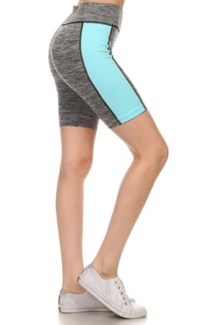 Active Wear Shorts - Blue