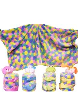 Plush Animal w/ Blanket