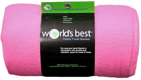 Travel Blanket (Pink)