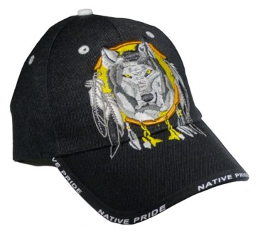 Native Pride Cap - Wolf