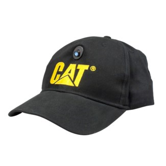 CAT Cap with LED Work Light