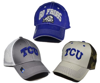 Texas Christians University Caps