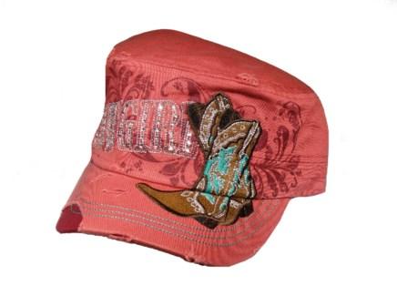 Cowgirl/Boots Cadet Cap