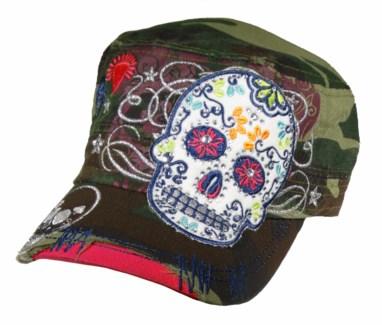 Sugar Skull Cadet Cap