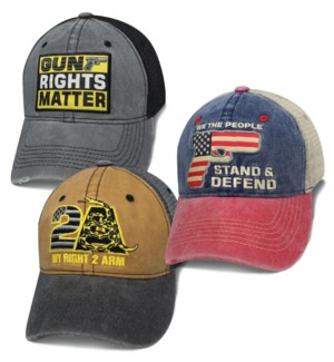 Gun Rights Caps