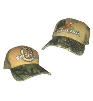 Camo Whitetail Caps