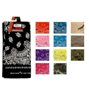 Novelty Bandana (12 Count Asst.)