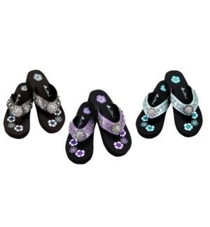 Bling Collection Flip Flops