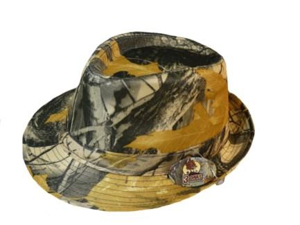 Fedora Hat - Camo