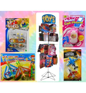 Assorted Peg Toys