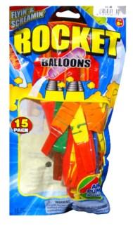 Rocket Balloons