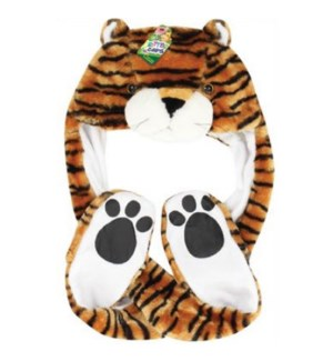 Tiger Mitt Hat