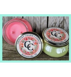 Country Charm Candles - 8oz.