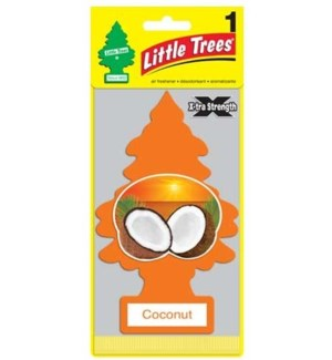 Coconut X-Strength Big Tree Air Freshener