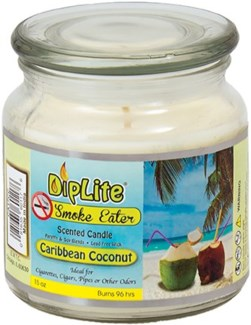 DipLite Candle - Caribbean Coconut
