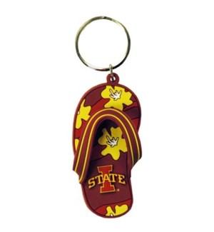 Iowa State Flip Flop Keychain