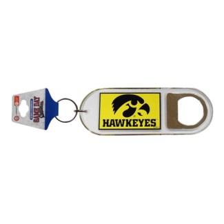 Iowa Hawkeyes Bottle Opener Keychain