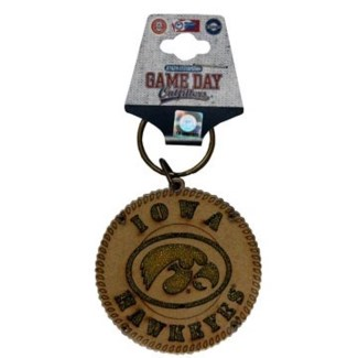 Iowa Hawkeyes Sand Filled Keychain