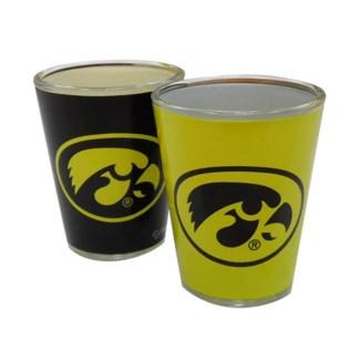 Iowa Hawkeyes 2-Tone Shotglass