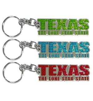 Texas Shanghi Keychain