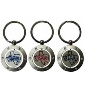 Texas Spinner Keychain
