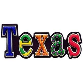 Texas Festive Magnet