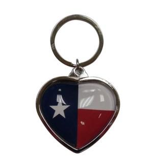 TX K/C Heart Bubble Flag