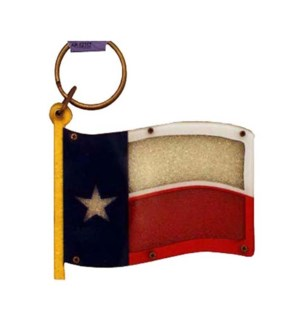 Texas Sand Filled Keychain