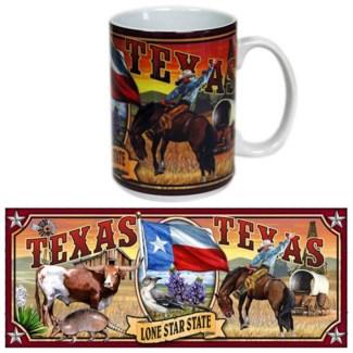 Texas Mural Mug