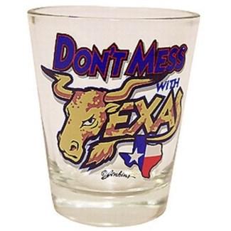 Texas Steer Head Shotglass