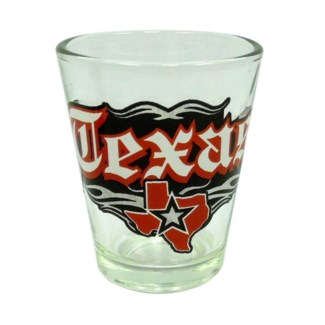 Texas Rock N Roll Shotglass