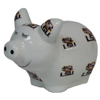 LSU Logo Piggy Bank