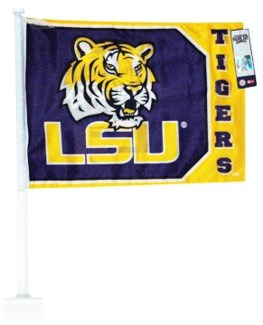 LSU Logo Car Flag
