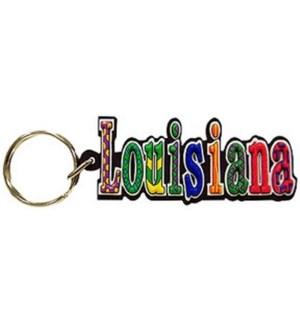 LA Festive Keychain