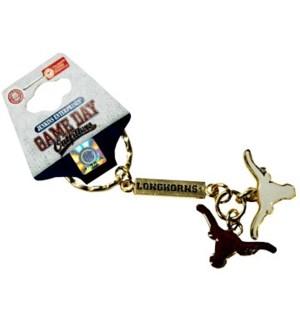 UT Charm Keychain