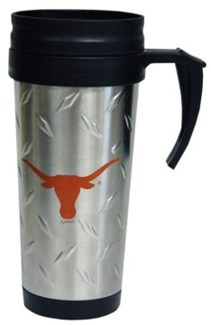 UT Stainless Steel Travel Mug