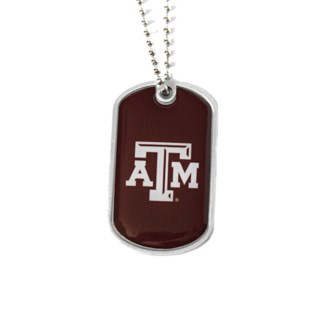 TX A&M Dog Tags
