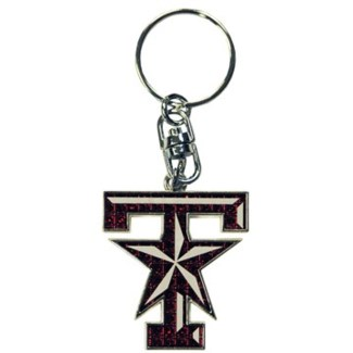 TX A&M Diamond Keychain