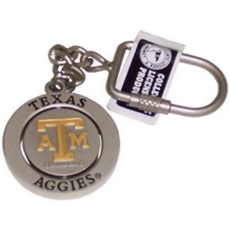 TX A&M Spinner Keychain