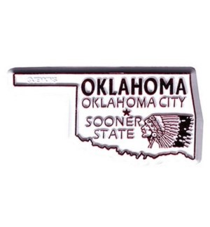 Oklahoma 2D Magnet