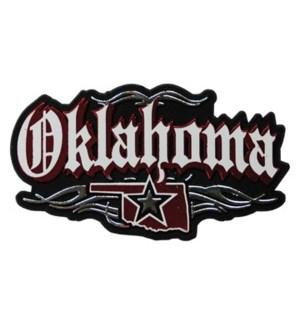 Oklahoma Rock N Roll Magnet