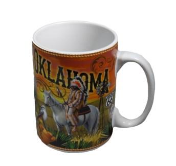 Oklahoma Mural Mug