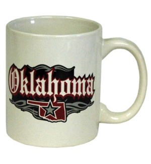 Oklahoma Rock N Roll Mug