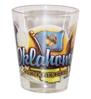Oklahoma Element Shotglass